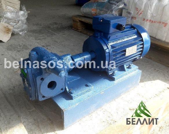 Насос НМШ 8-25 в сборе с электродвигателем для масла и патоки
