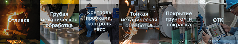 Производство крышки нагнетания и всасывания насоса ЦНС
