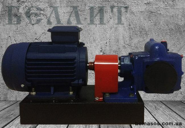 Шестеренный насосный агрегат НМШ с электродвигателем в Украине