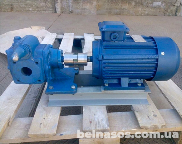 Насос НМШ 2 40 с эл двигателем для вязких жидкостей и нефтепродуктов