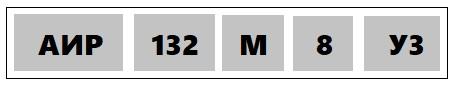 Расшифровка маркировки асинхронного электродвигателя
